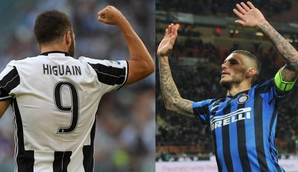 """Icardi e Higuain, il """"derby"""" argentino inizia... pari"""