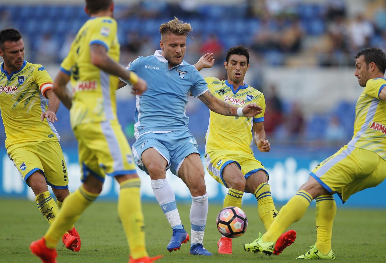 La Lazio non perdona il Pescara: Inzaghi rifila un secco 3-0 a Oddo
