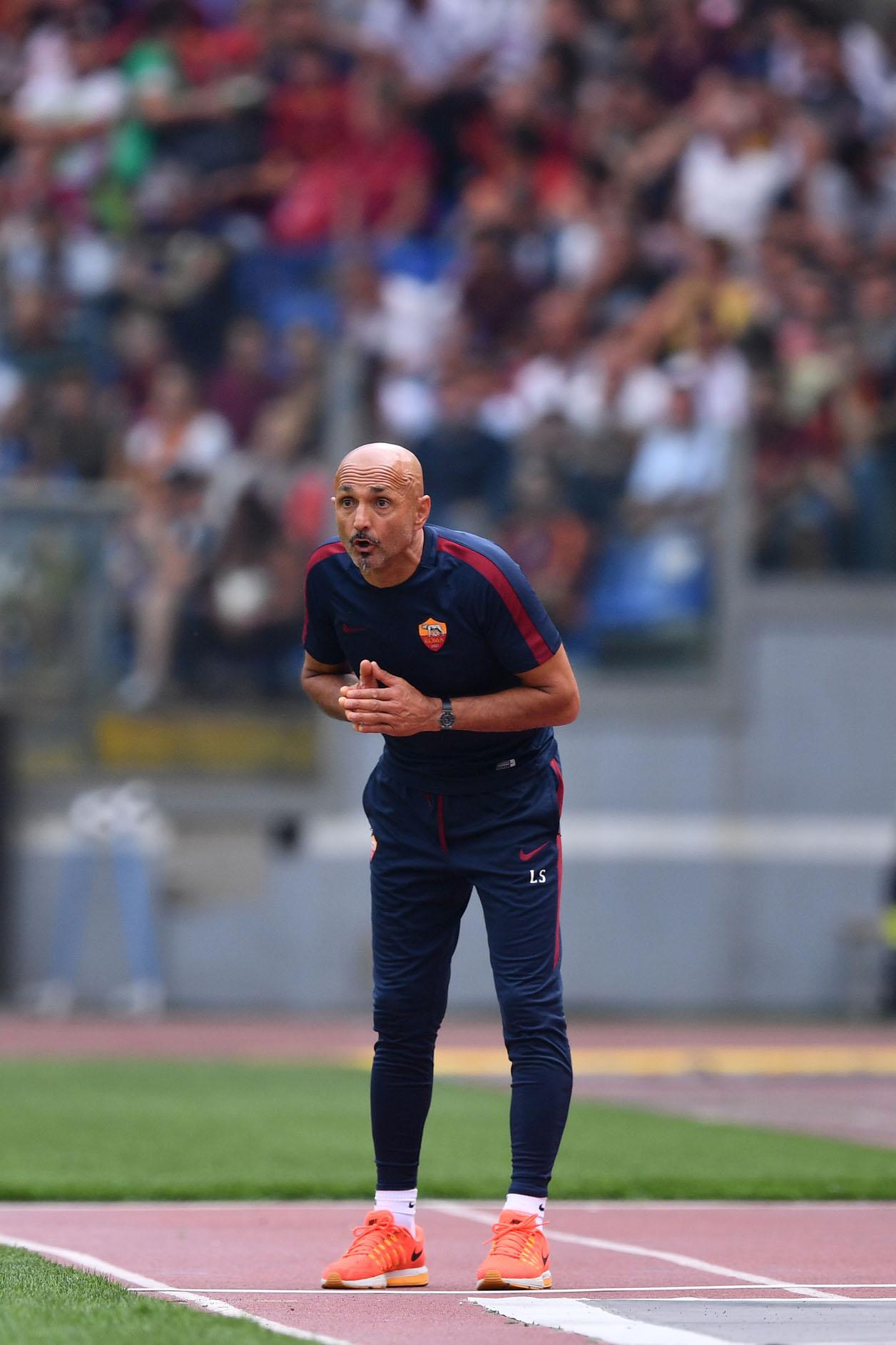 """Il tormentone Totti irrita Spalletti """"Guardate gli altri"""""""