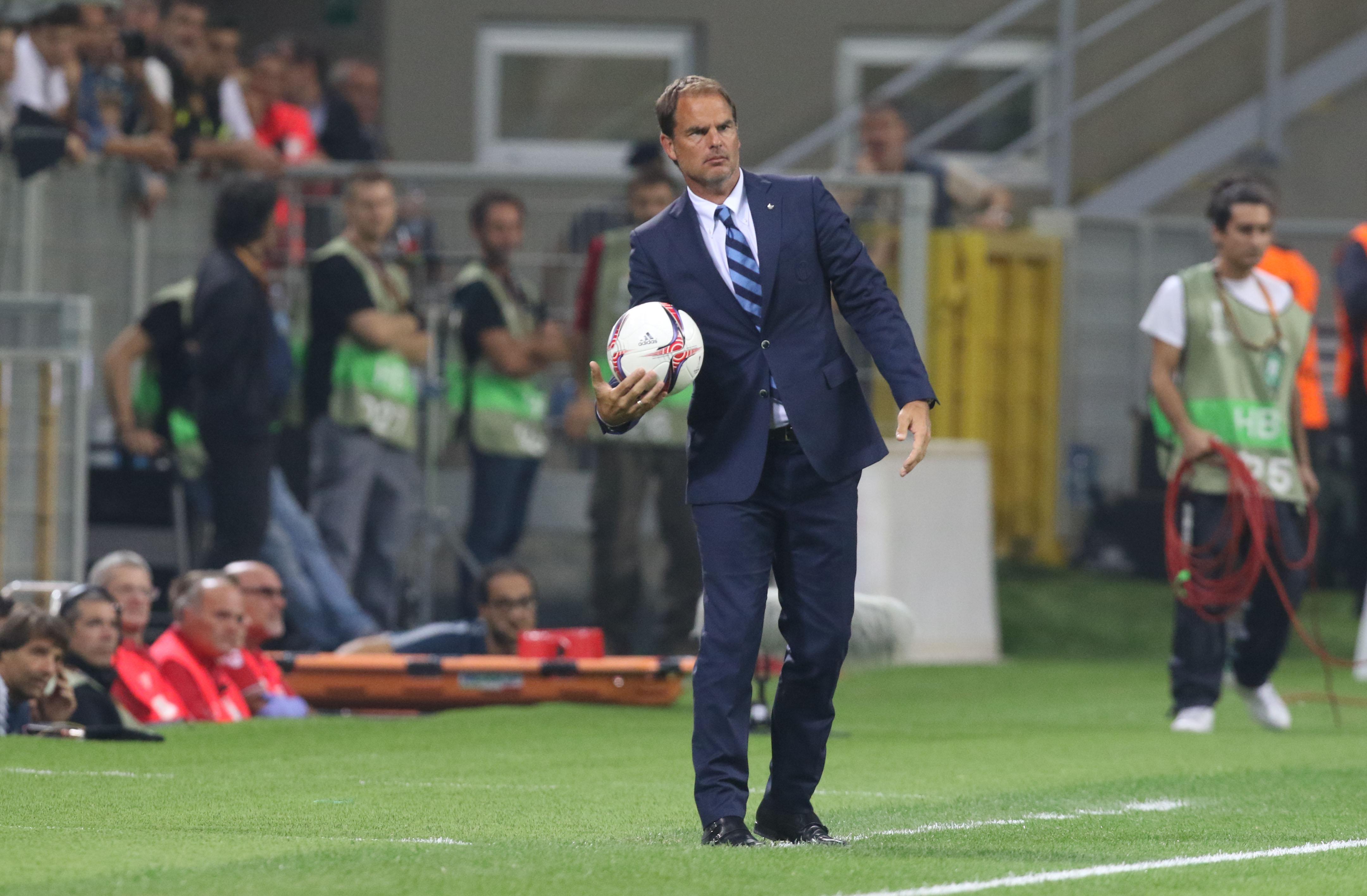 """De Boer l'italiano: """"A Empoli la verità sull'Inter"""""""