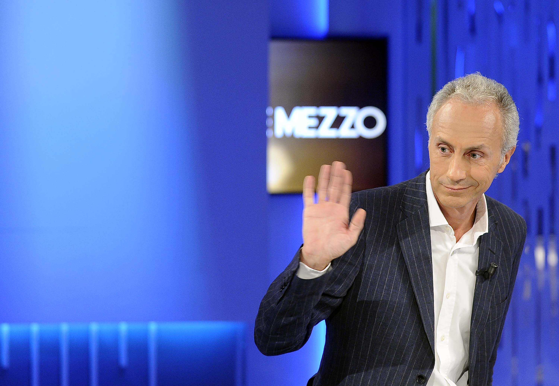 """""""Otto e mezzo"""", scintille in tv tra Renzi e Travaglio"""
