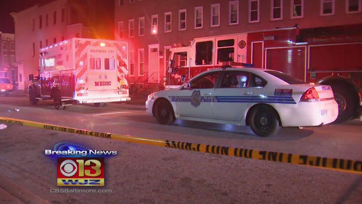 Sparatoria a Baltimora: 8 feriti, tra cui una bimba