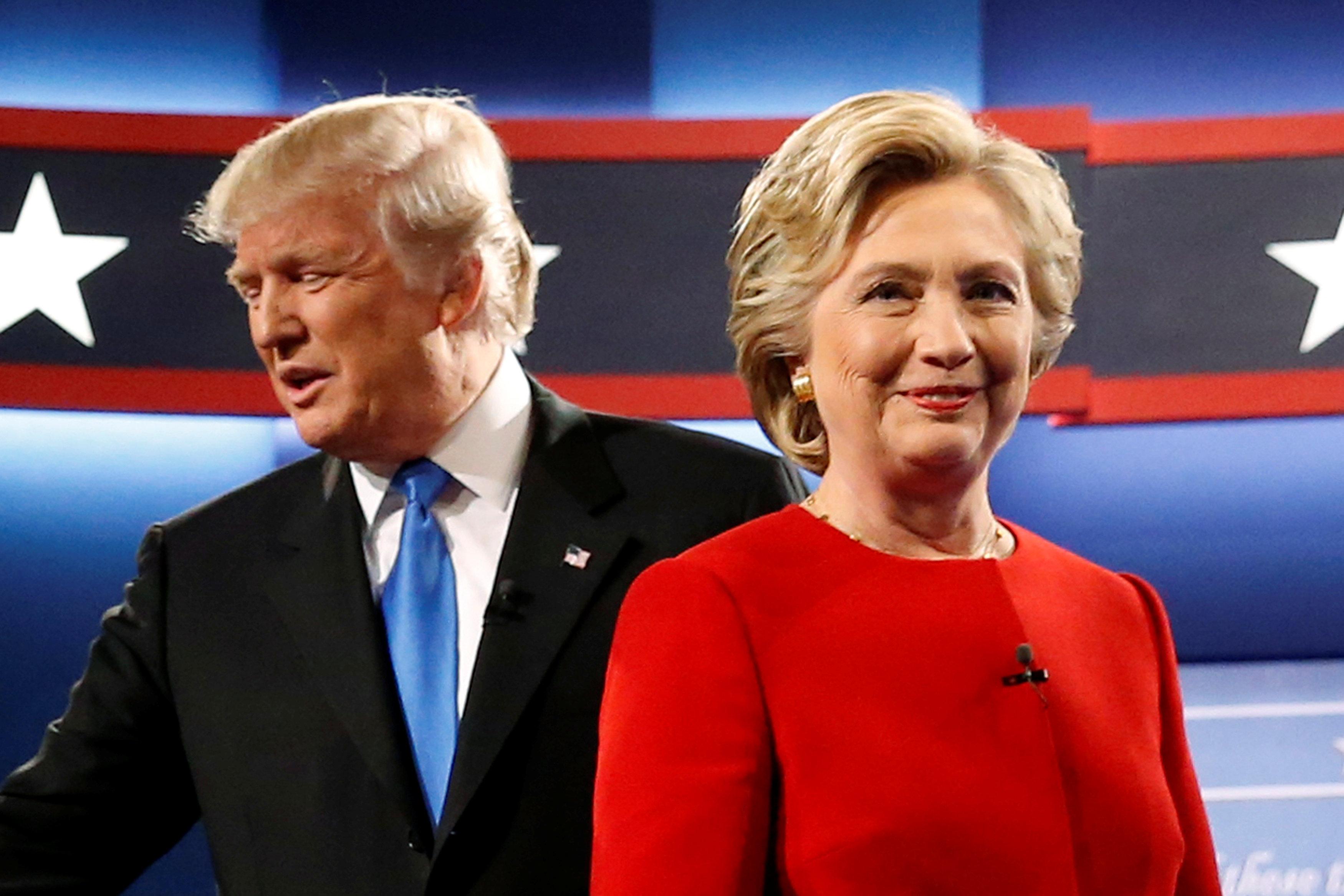 Trump-Hillary, guerra sui numeri per stabilire chi ha vinto il duello in tv