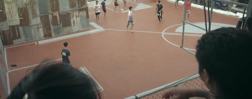 A Bangkok nasce il primo campetto da calcio ad angolo