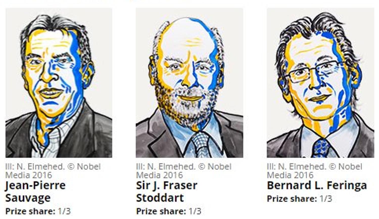 "Nobel per la Chimica alla ""macchina più piccola del mondo"""