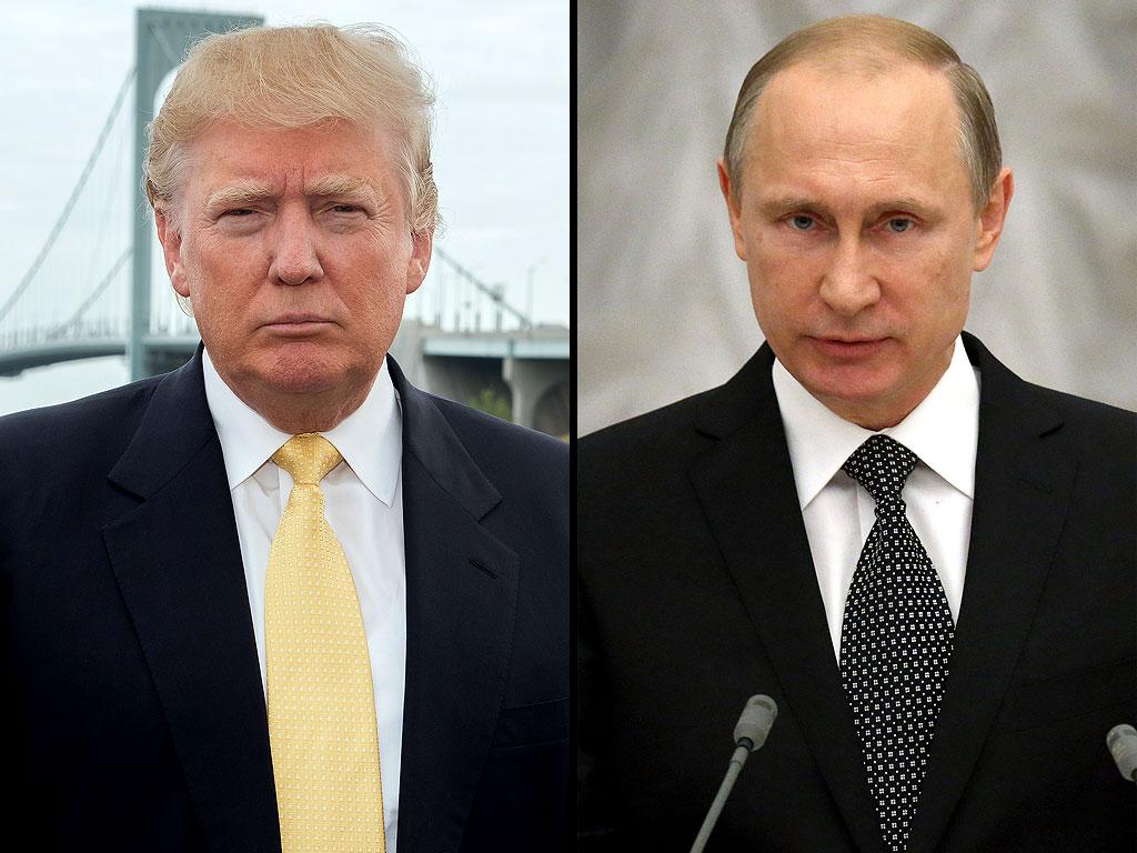 """Trump: """"Putin? Non lo amo né lo odio"""""""