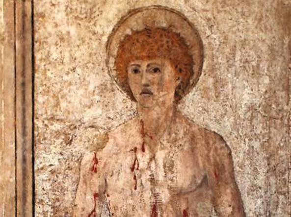 Quel San Sebastiano luminoso è di Piero della Francesca