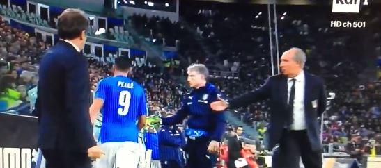 """Ventura non perdona Pellè: """"Il suo gesto inaccettabile"""""""