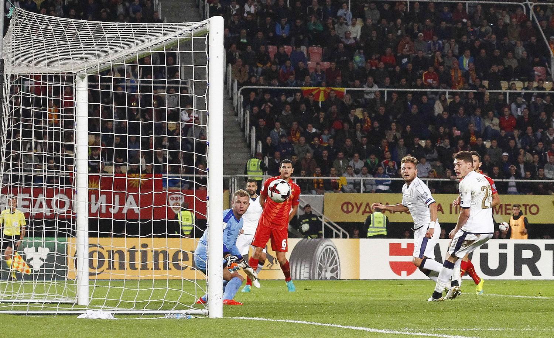 Immobile salva l'Italia ma la Macedonia è amara