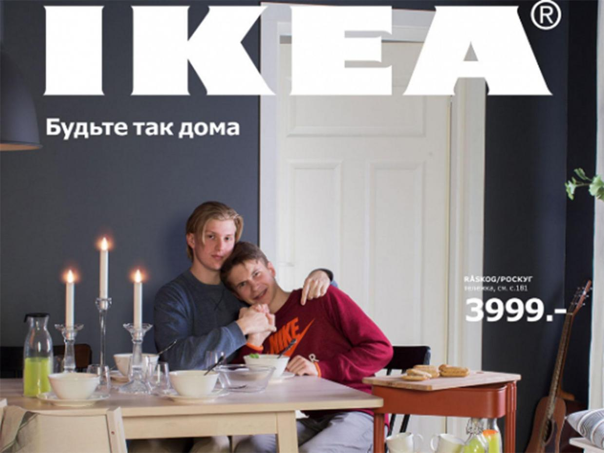 Coppia Gay sul catalogo Ikea? Mosca è pronta a censurare la foto