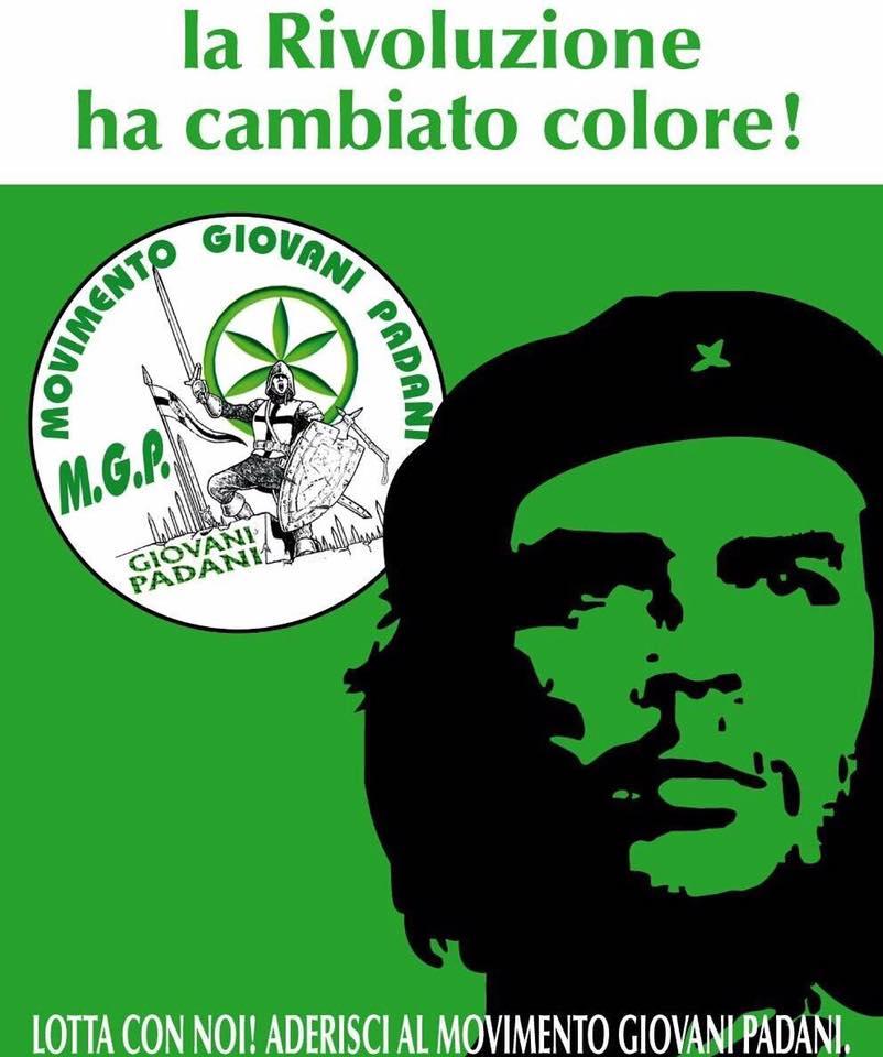 Che Guevara in camicia verde spacca la Lega Nord