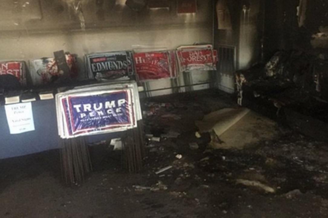 Molotov contro sede repubblicana in North Carolina