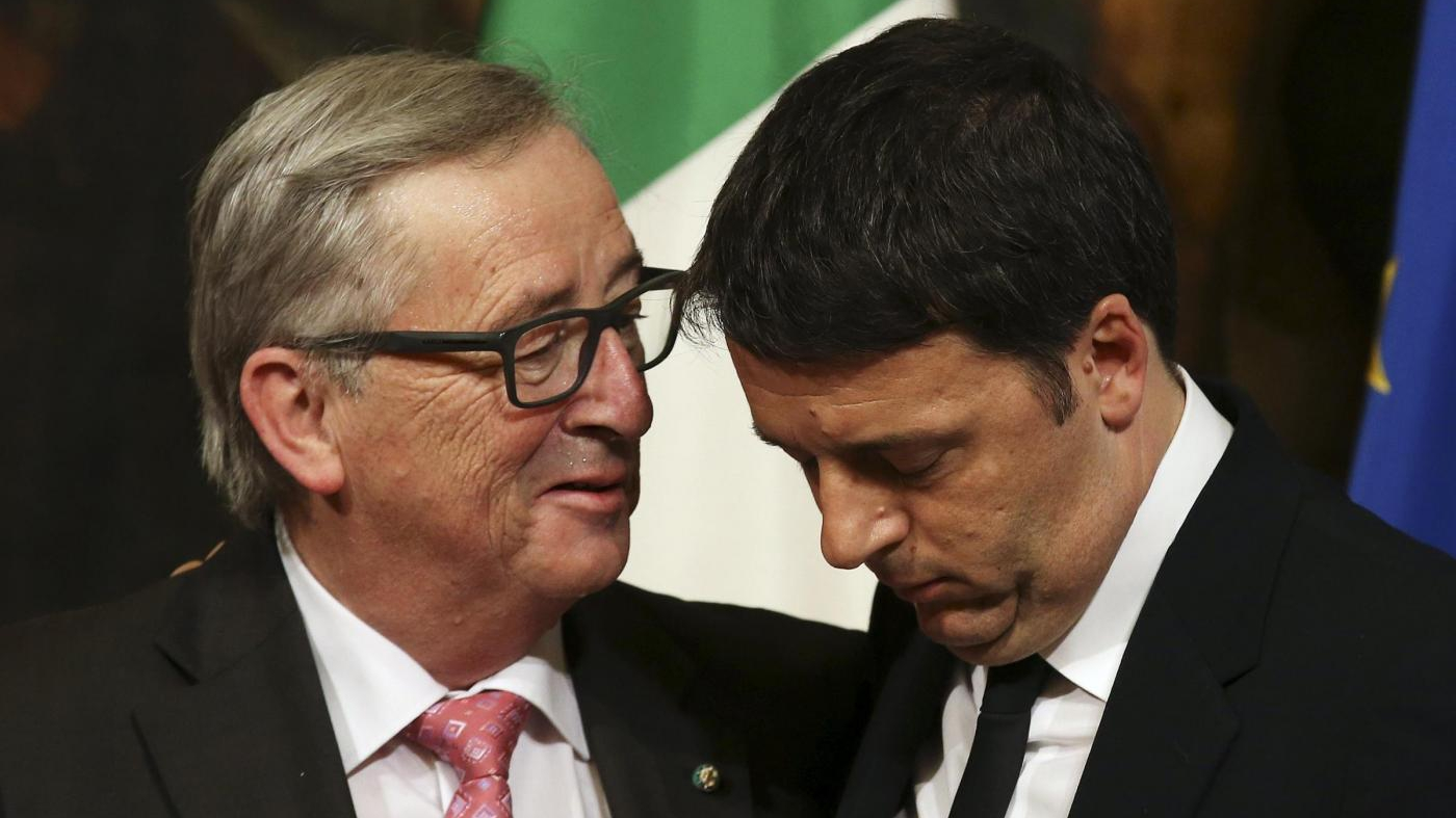 Manovra, battaglia con la Ue. E Renzi si gioca la carta migranti