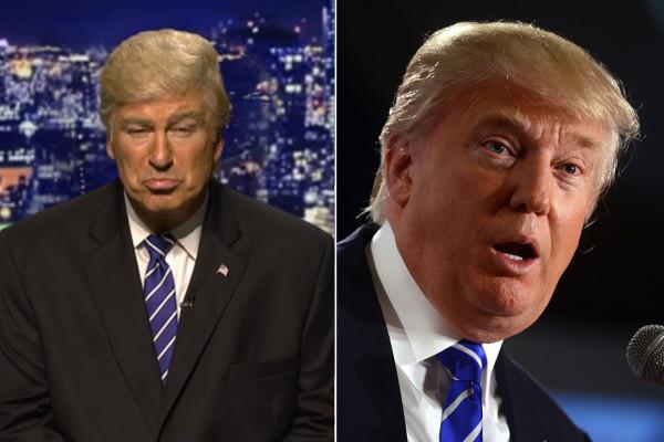 """Trump contro Alec Baldwin che lo imita: """"Chiudete il programma"""""""