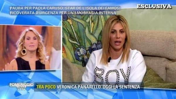 """Paola Caruso dopo l'operazione d'urgenza: """"Ho rischiato di morire"""""""