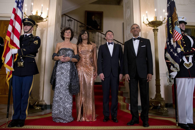 Alla cena di Obama per Renzi in scena la fiera dei complimenti