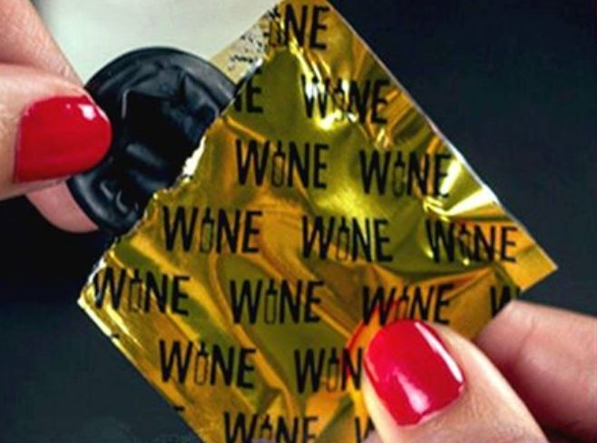 Arriva il preservativo da vino