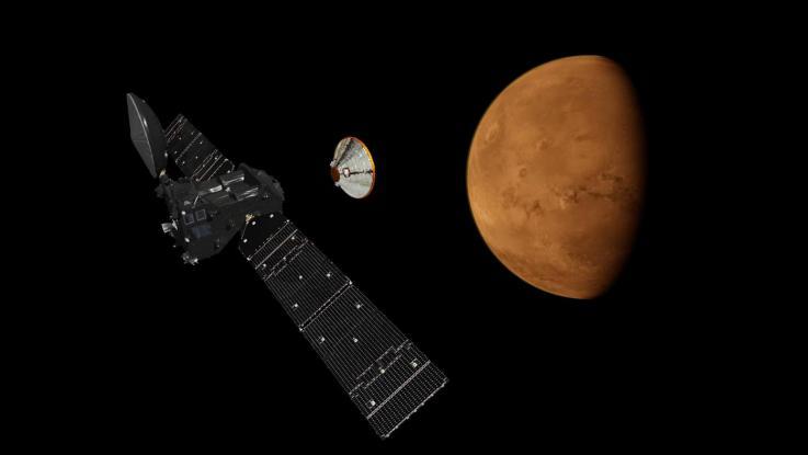 Exomars, l'Italia sbarca su Marte