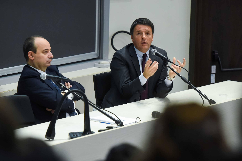 "Renzi: ""Bicameralismo paritario sconfitta dei padri costituenti"""