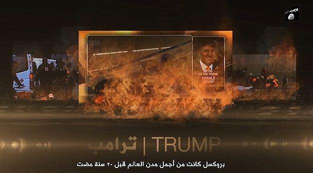 """I tagliagole dell'Isis minacciano Trump: """"Si è scavato la fossa da solo"""""""