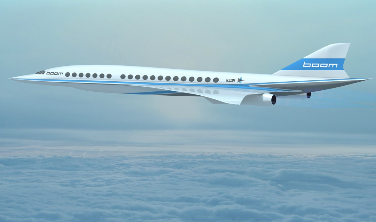 Mini-Concorde Boom, il primo aereo che ti porta a New York in tre ore