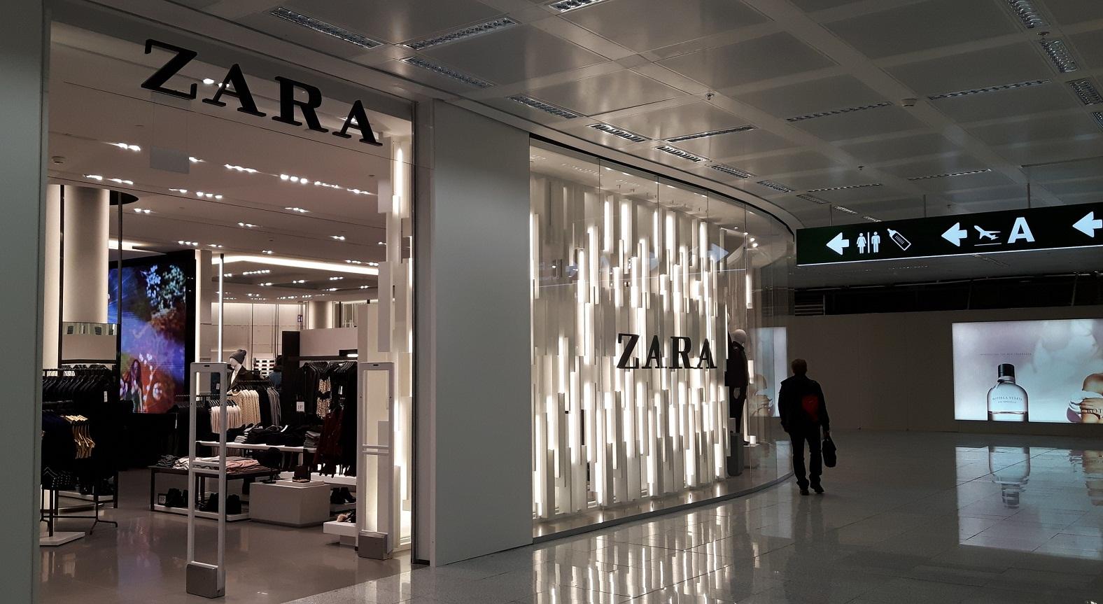 Shopping A Malpensa Zara Apre Il Suo Pi Grande Store In
