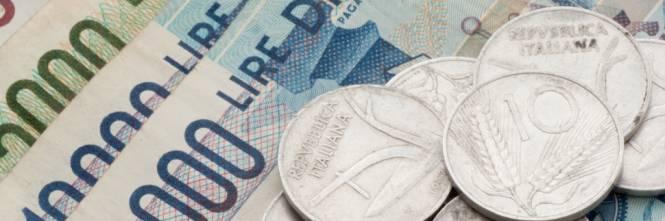 Eredita miliardi di lire dal nonno, ma non può più cambiarli