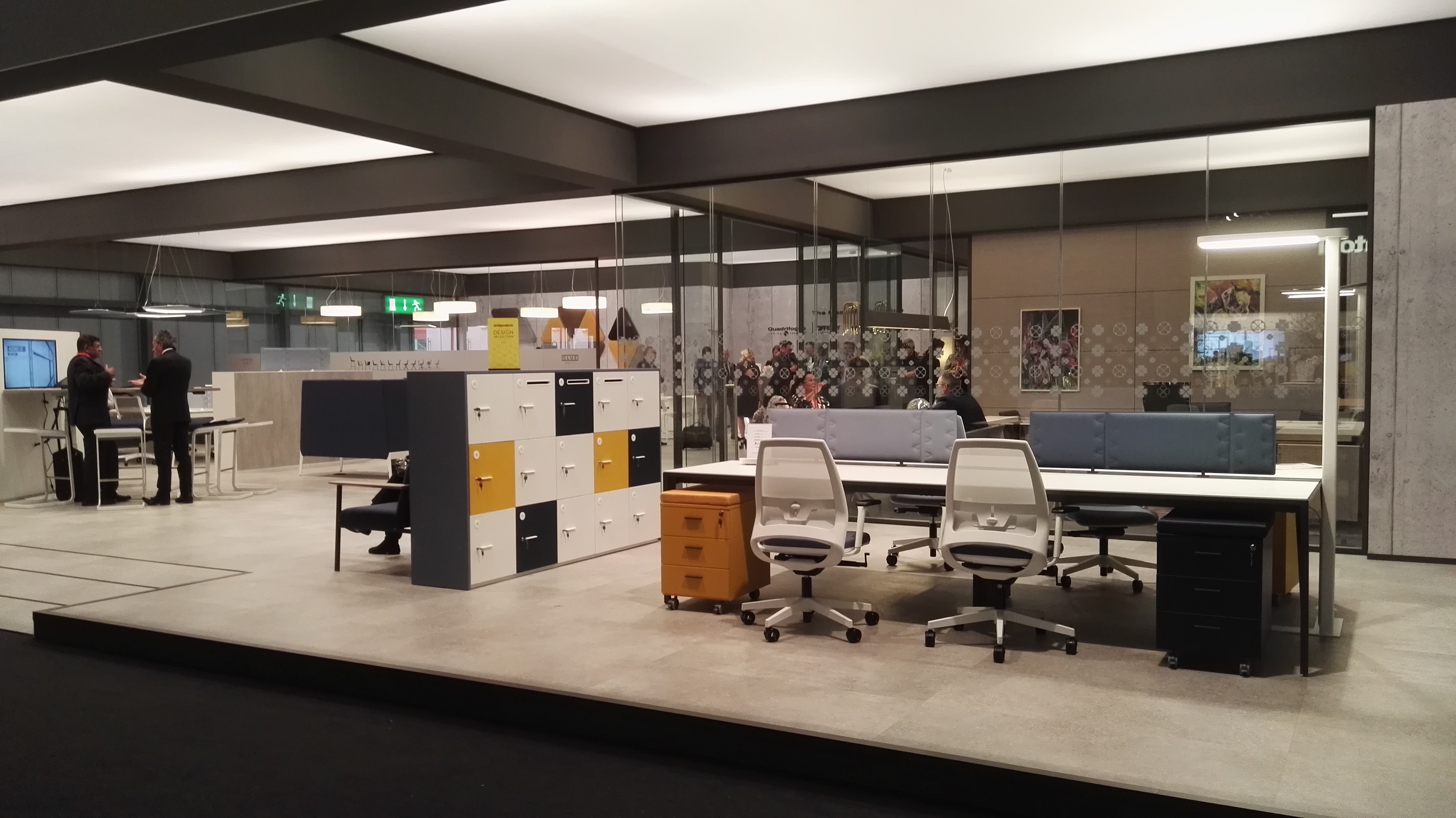 Predari l 39 ufficio del futuro nasce a workplace 3 0 for Salone mobile ufficio
