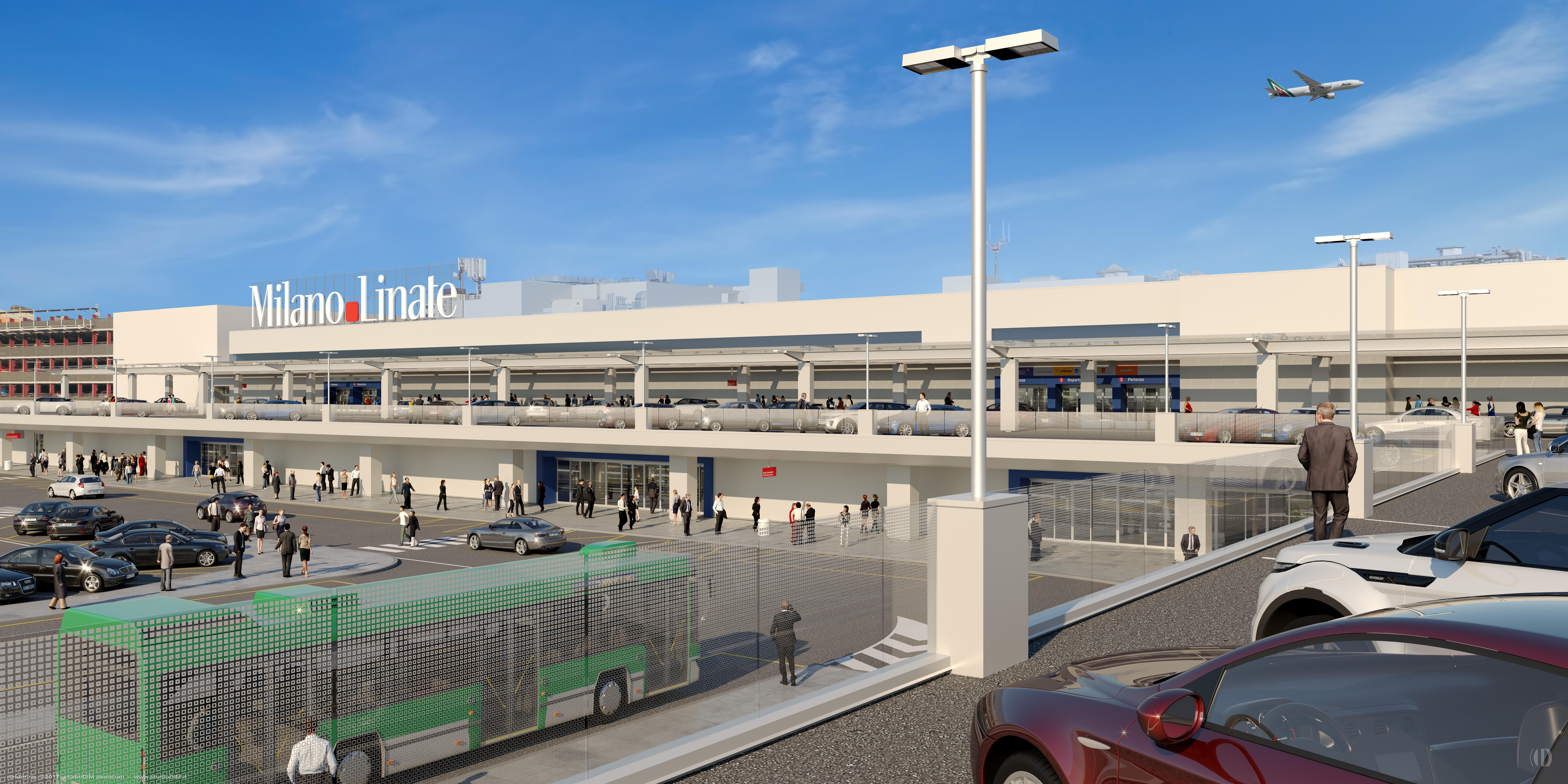 Linate entra nel futuro nuova facciata e interni moderni - Porta garibaldi malpensa terminal 2 ...