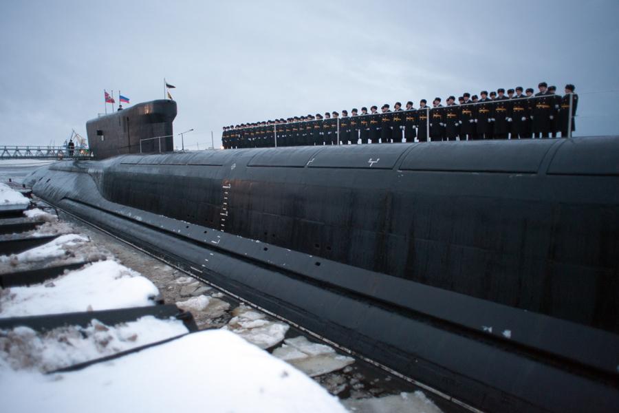 russia lavori conclusi sul primo sottomarino strategico