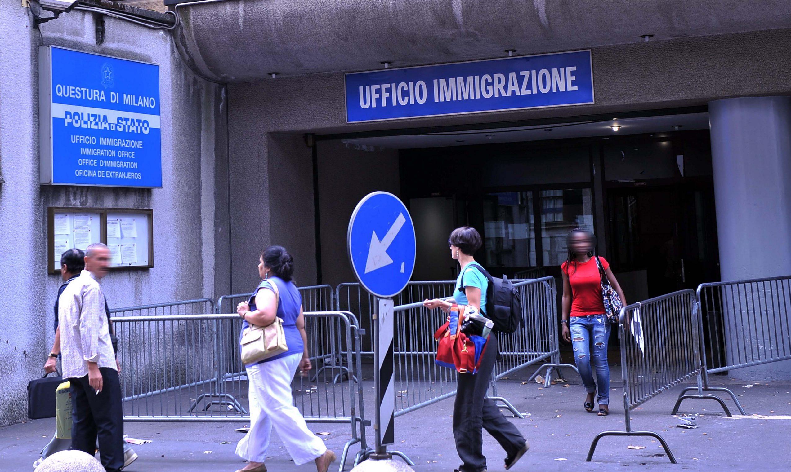 Ufficio immigrazione a milano immigrazione uno su cinque for Questura di reggio emilia permessi di soggiorno