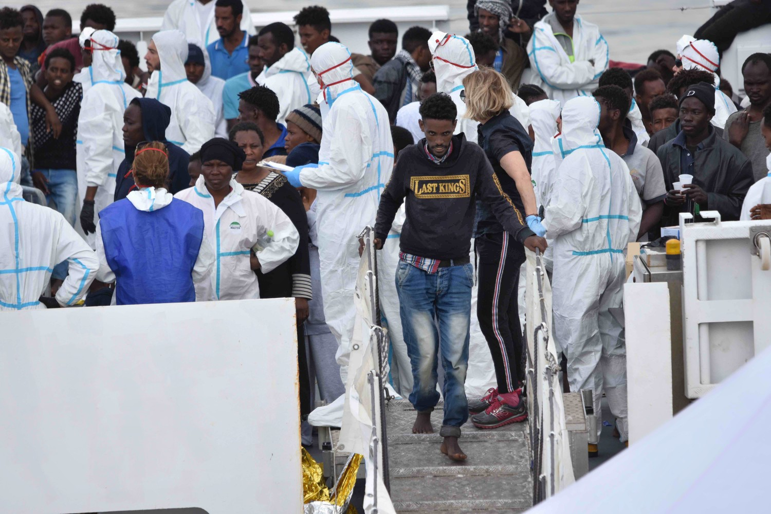 The Berlin Rome Agreement To Send Back To Italy Moved The Migrants