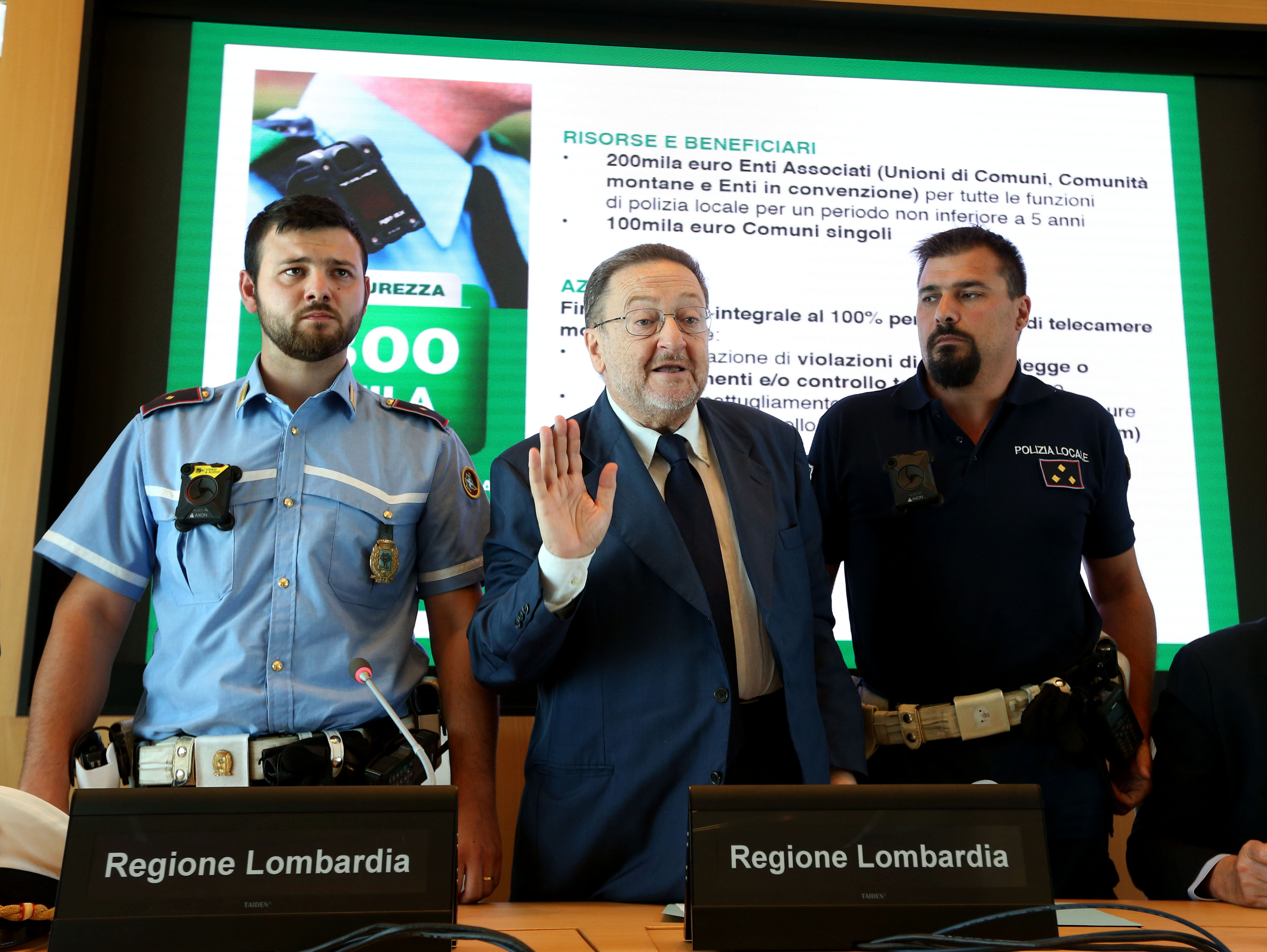 Telecamere Addosso Ai Vigili Per Registrare Le Emergenze