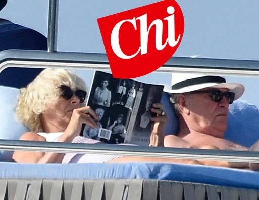 Camilla in vacanza senza carlo e legge il libro for Il gomitolo di camilla