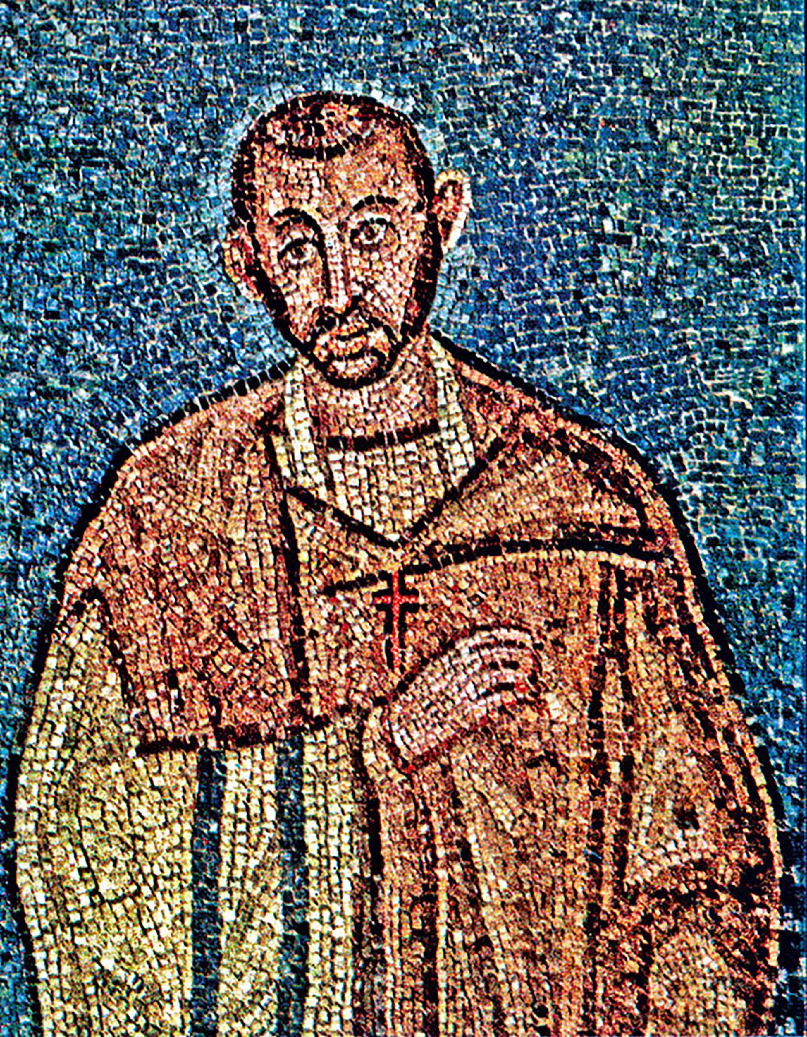 Risultati immagini per sant'ambrogio mosaico