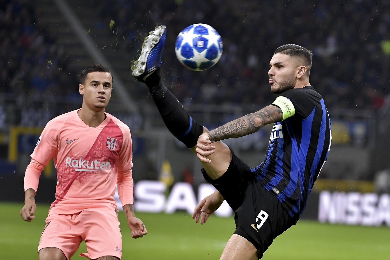Il solito Icardi finale rimette l'Inter alla pari del grande Barcellona