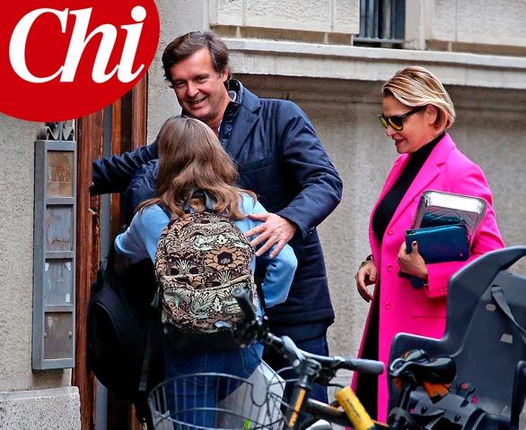 Simona Ventura beccata con Carraro dopo l'addio