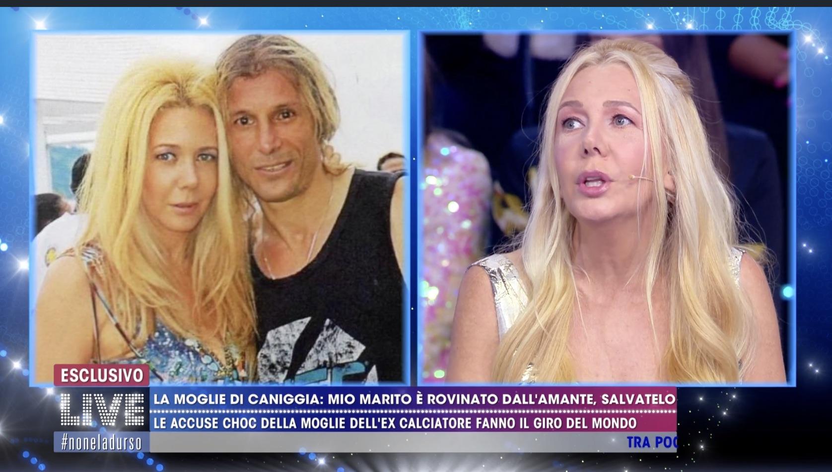"""Mariana Nantes moglie di Claudio Caniggia rivela: """"Una prostituta lo tiene drogato tutto il giorno"""""""