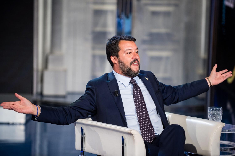 Trieste, lieve malore per Matteo Salvini