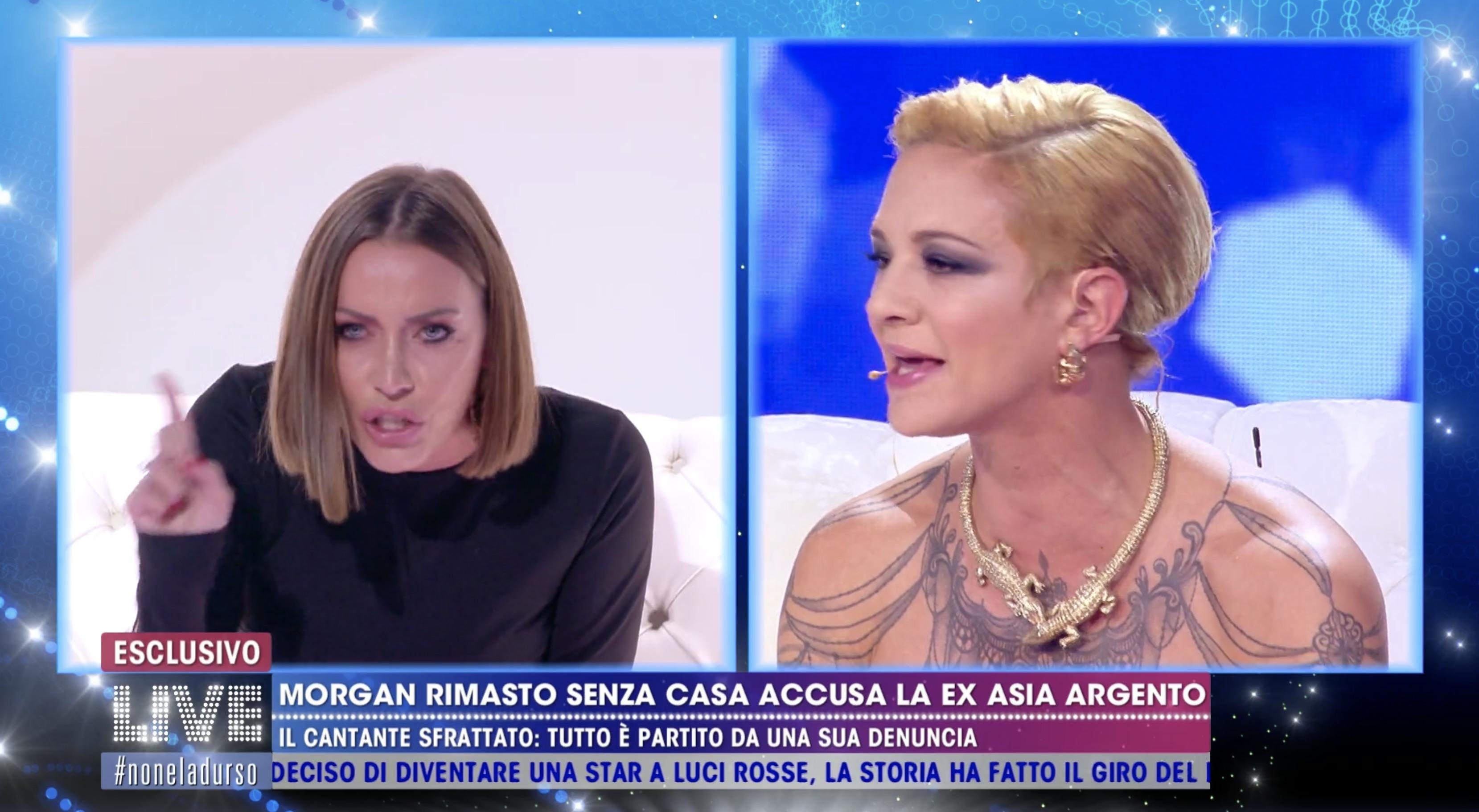 """Asia Argento fa infuriare Karina Cascella: """"Ma tu chi sei? Che posto ..."""