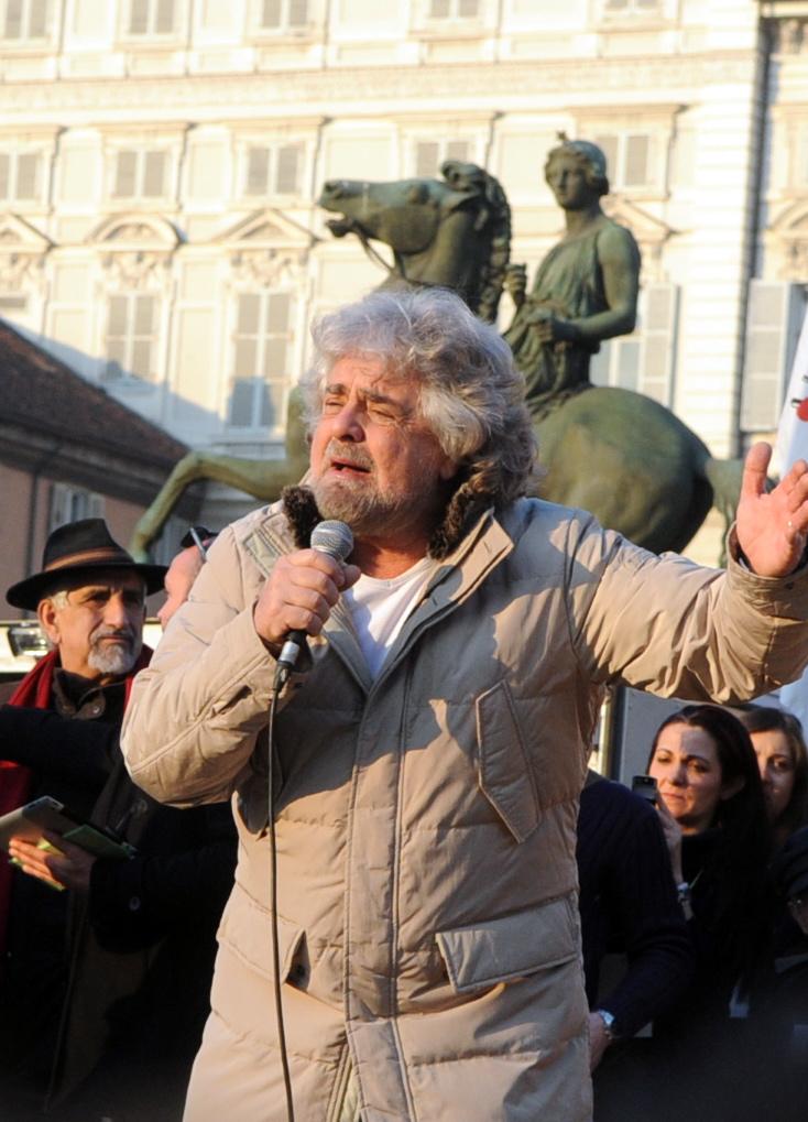 La rivoluzione comica di Grillo