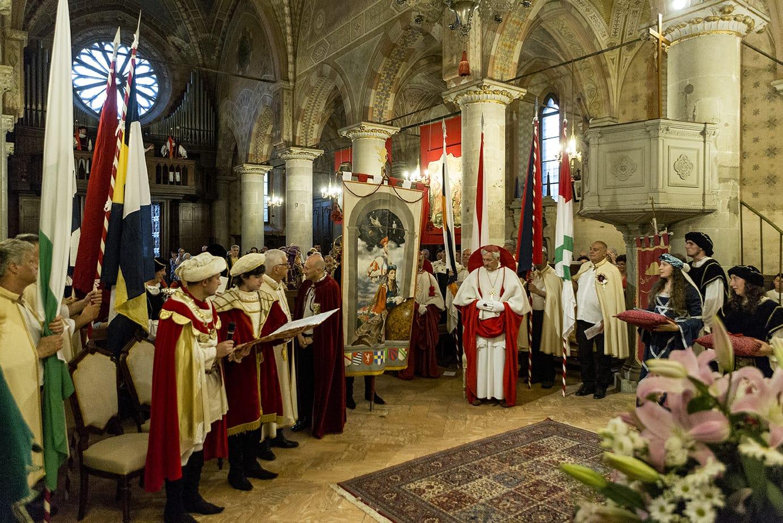 Il Palio dei Castelli di Castiglione Olona celebra il sesto centenario della Collegiata
