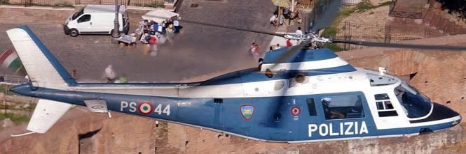 Elicottero Polizia : Roma cade elicottero della polizia morti