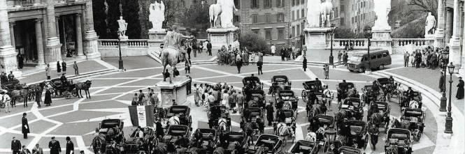 Roma in bianco e nero e i suoi sogni di modernit for Roma in bianco e nero