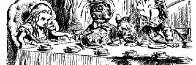 Lewis carroll e dal paese delle meraviglie spunta un 39 altra alice - Alice dietro lo specchio ...