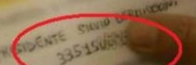 Annozero d il numero di cellulare di berlusconi santoro contro il giornale scarica sulla macr - Numero di telefono piscina ortacesus ...