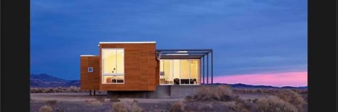 Ecco la villa di rondolino nel deserto del nevada vive for Case mediterranee della california