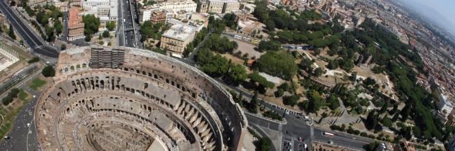 Roma allarme bomba al colosseo ma era solo un barattolo - Allarme bomba porta di roma ...