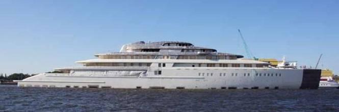 L rssen firma milanese per lo yacht pi grande del mondo for Classifica yacht piu grandi del mondo