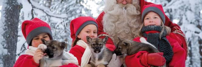 Immagini Del Villaggio Di Babbo Natale.La Magia Del Natale Finlandia Alla Scoperta Del Villaggio
